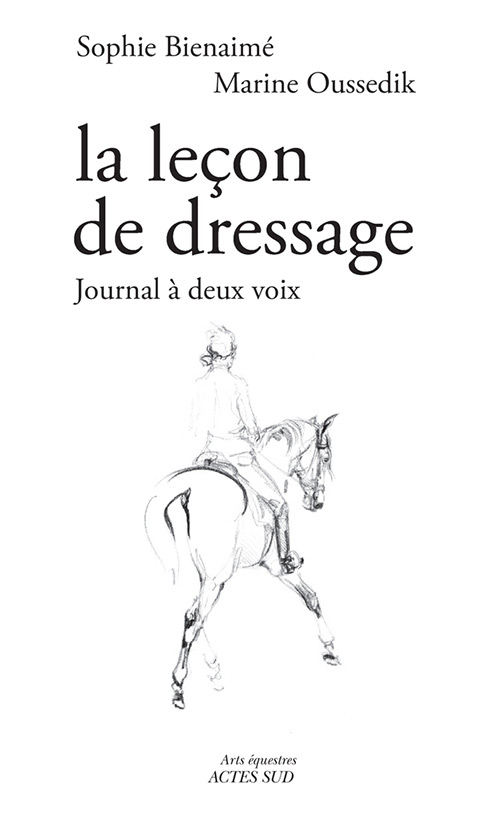 la lecon de dressage